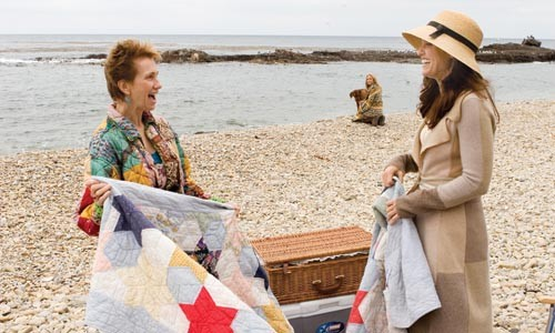 Sands and sensibility: Kathy Baker, Mario Bello and Amy Brenneman