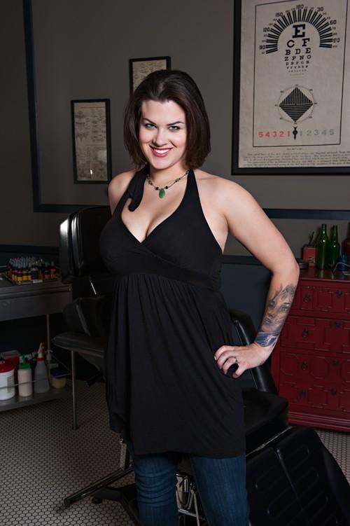 Sarah Miller. Photo courtesy of Spike TV.