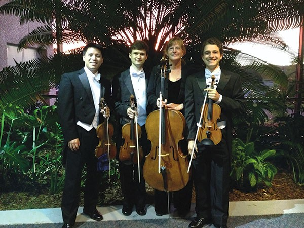 Saturn String Quartet, featuring members of the Roanoke Symphony Orchestra