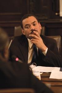 School-board member Randall Taylor - HEATHER MULL