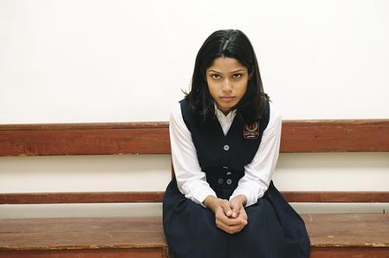 Schoolgirl Miral (Freida Pinto) learns lessons beyond the classroom.