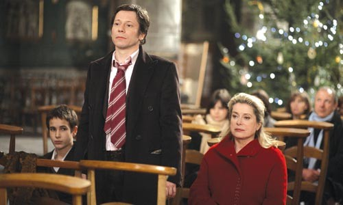 Seasonal maladies: Mathieu Amalric and Catherine Deneuve