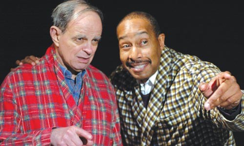 Seasoned citizens: Bob Roberts and Kevin Brown in I Nipoti, at Pittsburgh Playwrights.