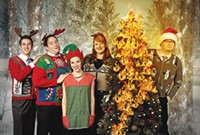 Second City, Pittsburgh Public Theater, The nut-cracking holiday review.