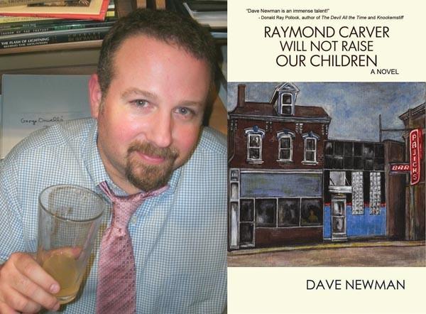 Second drafts: Novelist Dave Newman.