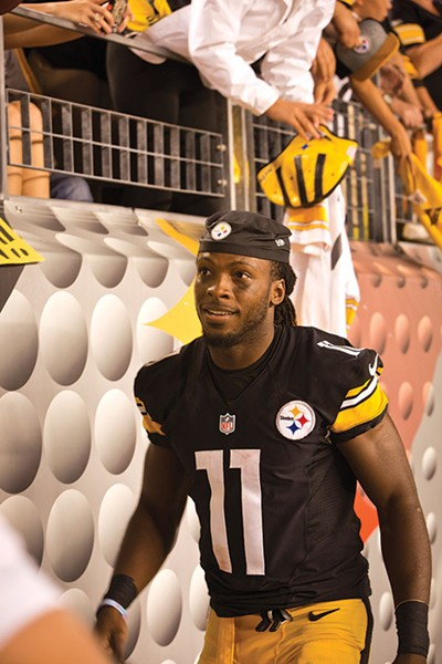 Second-year receiver Markus Wheaton