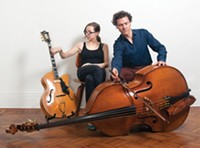 Secret Keeper: Mary Halvorson and Stephan Crump - PHOTO COURTESY OF GUS POWELL