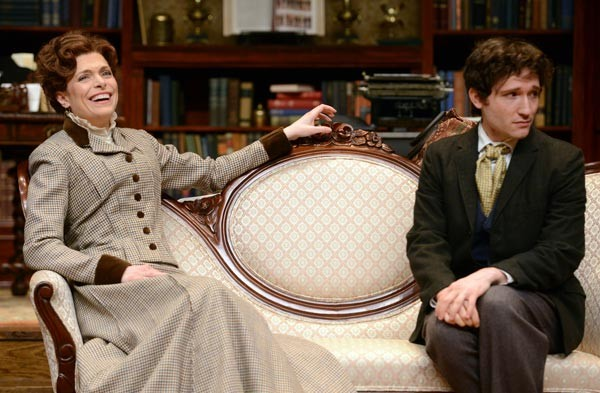 Shaw thing: Gretchen Egolf and Jared McGuire in the Public's Candida