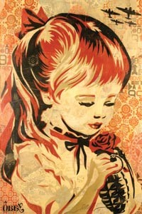 Shepard Fairey: Supply and Demand opens Oct. 18 at the Warhol. - IMAGE COURTESY OF JONATHAN LEVINE