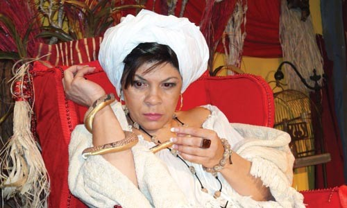She's the voodoo queen of New Orleans: Chrystal Bates portrays Marie Laveau
