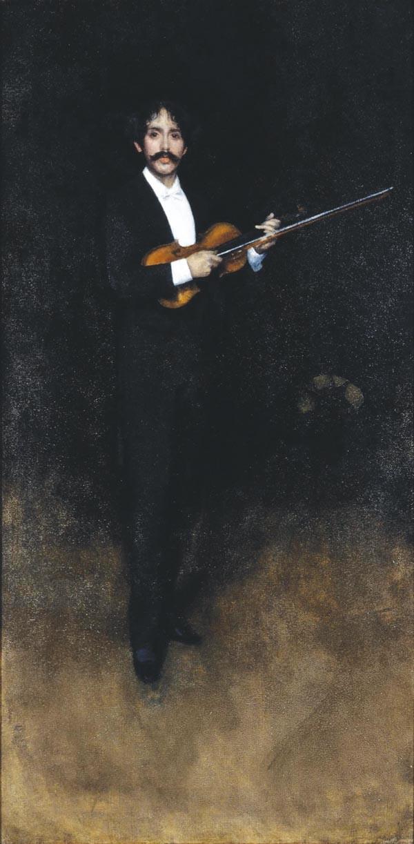 ART BY JAMES WHISTLER, COURTESY OF CARNEGIE MUSEUM OF ART