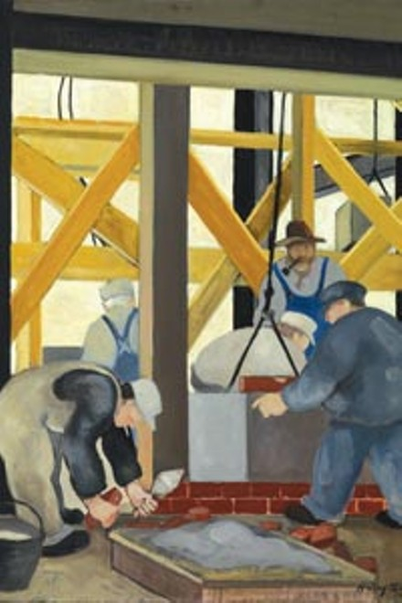 ART BY HARRY W. SCHEUCH, COURTESY OF SMITHSONIAN AMERICAN ART MUSEUM