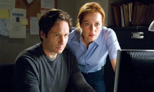 Show me an X: David Duchovny and Gillian Anderson are back on the job.