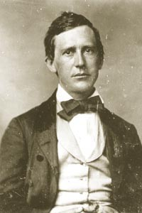 Sigh of the weary: Stephen Foster, photographed circa 1860.