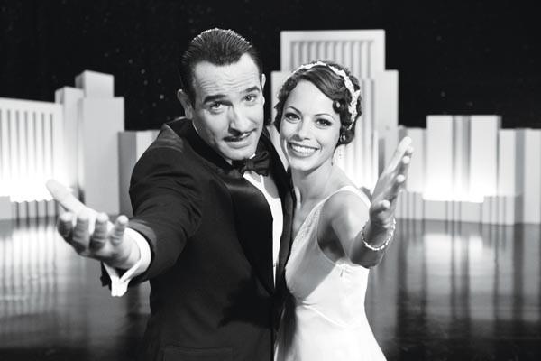 Silent partners: Jean Dujardin and Berenice Bejo