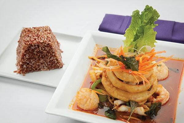 Similan Island dish at Sukhothai Bistro