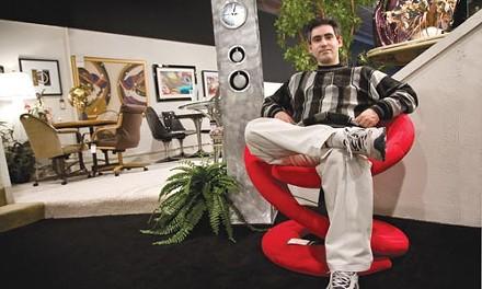 Sitting pretty: Brett Berkman - BRIAN KALDORF