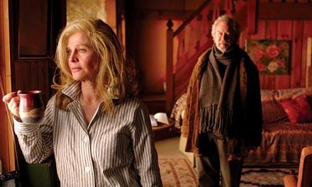 Slipping away: Julie Christie and Gordon Pinsent