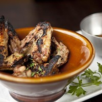 Tavern 1947 Smoked grilled wings Photo by Heather Mull