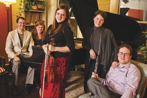 Sofa ensemble: Living Room Chamber Music Project - COURTESY OF ALISA GARIN