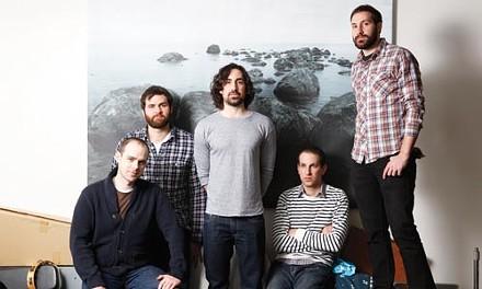 Solid lineup: Shade's Dave Halloran, Dave Woods, Matt Stuart, Brad Kiefer and Craig Stuart, from left - HEATHER MULL