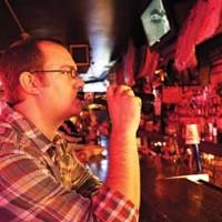 Solitary man: Jeff Zoet, of Mount Lebanon