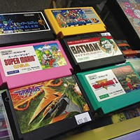 Some of the merchandise at Penn Hills Game Exchange