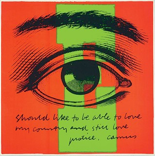 Someday Is Now: The Art of Corita Kent, the Warhol Museum north side