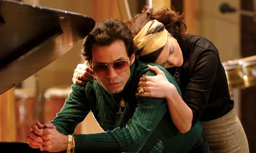 Song sung blue: Marc Anthony and Jennifer Lopez as Mr. and Mrs. Hector Lavoe