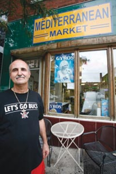 Souheil Obaid says restrictions on his late-night food sales are hurting his small business. - PHOTO BY HEATHER MULL