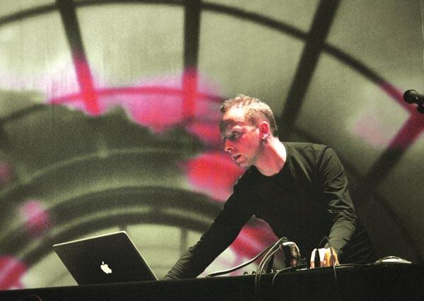 Sound artist Scanner