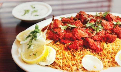 Special biryani with chicken