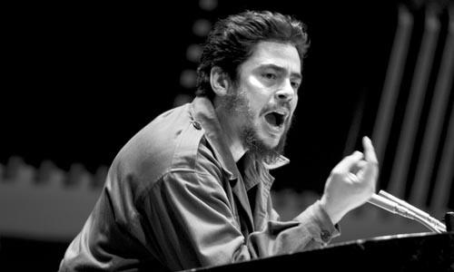 Spreading the word: Che Guevara (Benicio Del Toro) at the U.N.