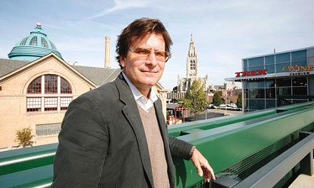 Steve Mosites Jr. at EastSide, the development
