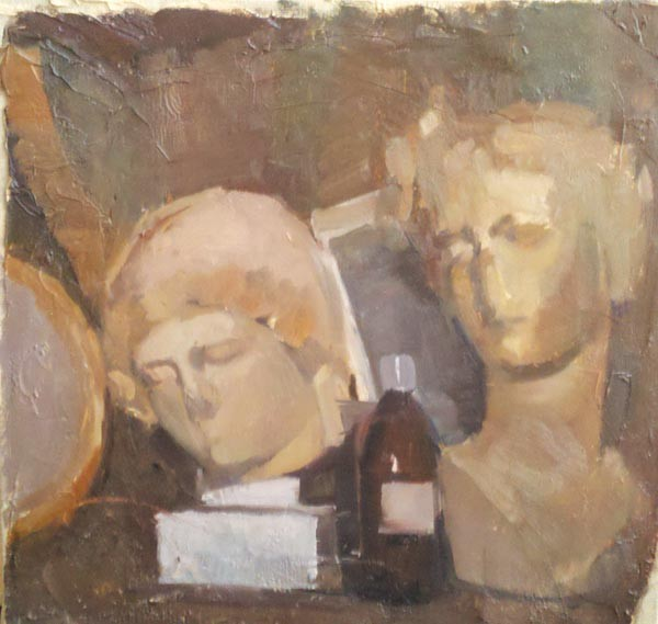 """Still Life With Busts,"" by Dylan Critchfield-Sales"