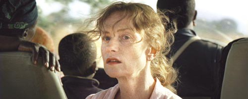 Suddenly homeless: Isabelle Huppert
