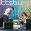 Surprise Marriage Proposal Onstage at PrideFest