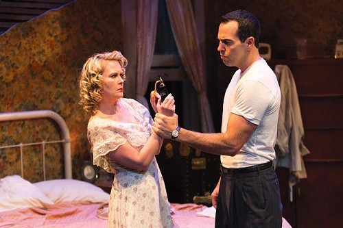 Tami Dixon and Patrick Jordan in A Streetcar Named Desire