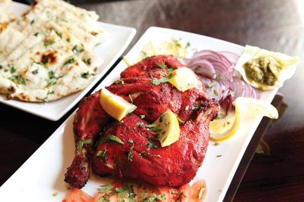Tandoori chicken - PHOTO BY HEATHER MULL