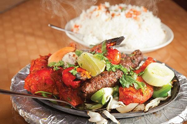 Tandoori mixed grill at Bangal Kebab