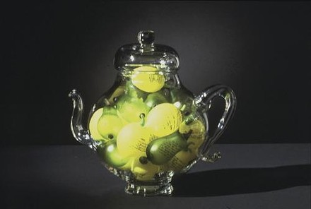 Teapots! at Morgan Contemporary Glass, through June 11 - ART BY KIM WEBSTER
