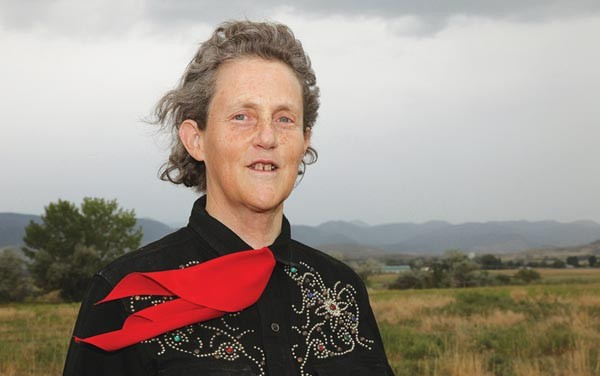 Temple Grandin at the Mother Earth News Fair