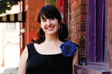 Tending the frock: Megan Dietz - PHOTO BY HEATHER MULL