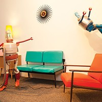 The artist behind <i>Fraley's Robot Repair</i> gets a full-scale exhibit.