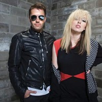 U.K. dance-rock duo The Ting Tings play Mr. Small's