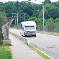 The Center Avenue Bridge in Emsworth, one of 80 bridges owned by the Port Authority, is in need of costly repairs.
