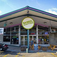 Barrel Junction The exterior of Barrel Junction Photo by Heather Mull