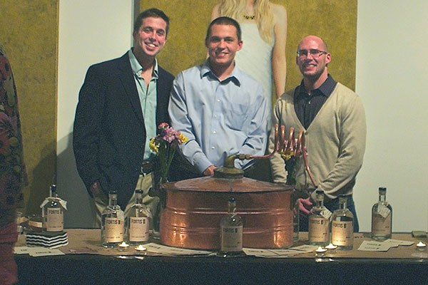 The Fortis team (left to right): Doug Heckmann, Casey Parzych and Anthony Lorubbio