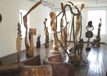 The Mattress Factory's exhibit of recent work by Thaddeus Mosley is a sculptural epic.