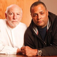 "<i>The Gammage Project</i> playwright Attilio ""Buck"" Favorini (left) and director Mark Clayton Southers revisit the tragic case of black motorist Jonny Gammage."